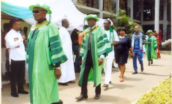 lecturers procession